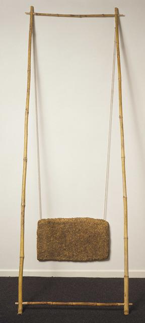 Robert Rauschenberg, 'Charter', 1975, Sculpture, Rag-mud/rope/bamboo, Gemini G.E.L.