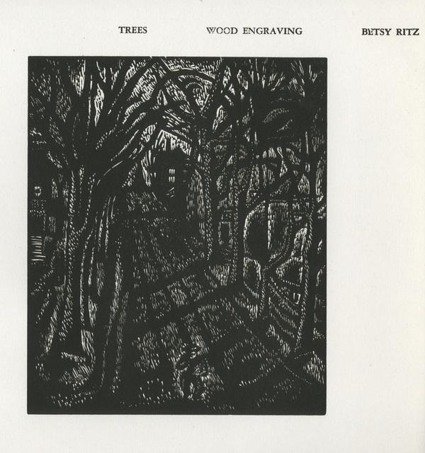 Betsy Ritz Friebert, 'Trees', 1937, David Barnett Gallery