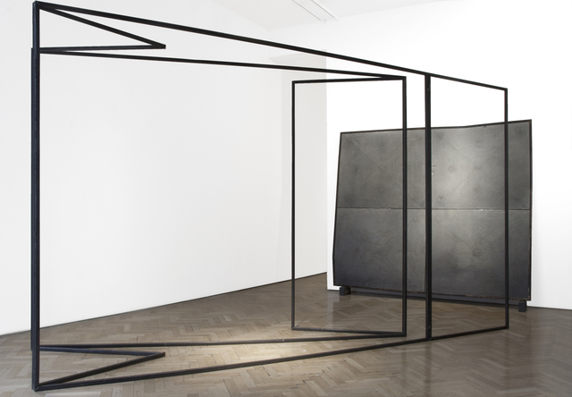 , 'Untitled (Folded Studio Structure),' 2015, Vigo Gallery