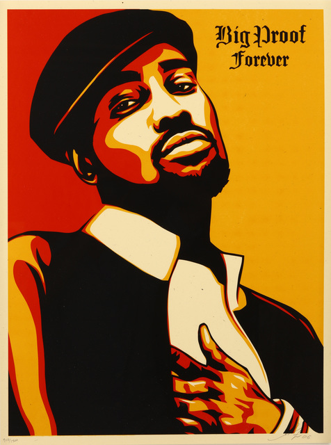 Shepard Fairey (OBEY), 'Big Proof Forever', 2006, Chiswick Auctions