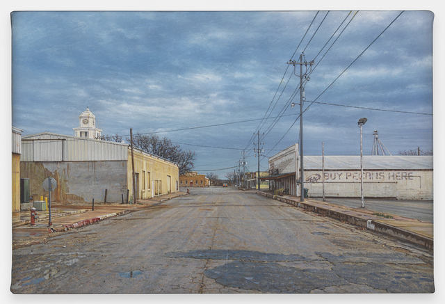 , 'View of San Saba,' 2017, Miles McEnery Gallery