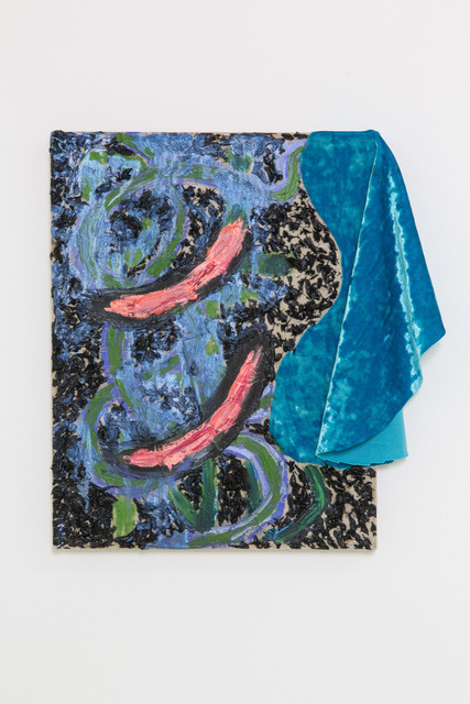 , 'Blue Velvet Black BLIND,' 2014, Nina Johnson