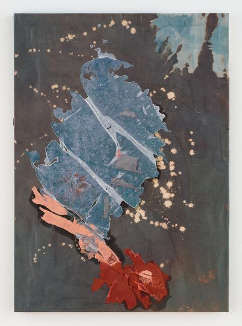 Molly Zuckerman-Hartung, 'Smash and Release', 2017, Painting, Silk, enamel, cotton, Rachel Uffner Gallery