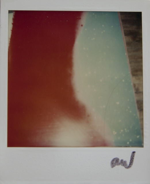 Andy Warhol, 'Andy Warhol, Polaroid Photograph of a Painting Detail (Abstract Red and Blue), 1985', 1985, Hedges Projects