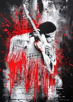 Mr. Brainwash, Jimi (Red)