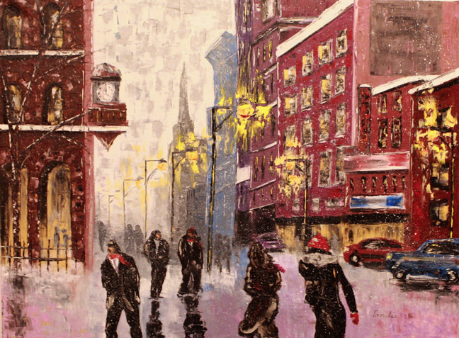 """Baby It's Cold Outside"" by Emilie Beadle.