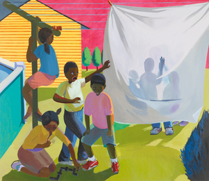 Khalif Kelly, 'Confrontation at the Clothesline,' 2007, Sotheby's: Contemporary Art Day Auction