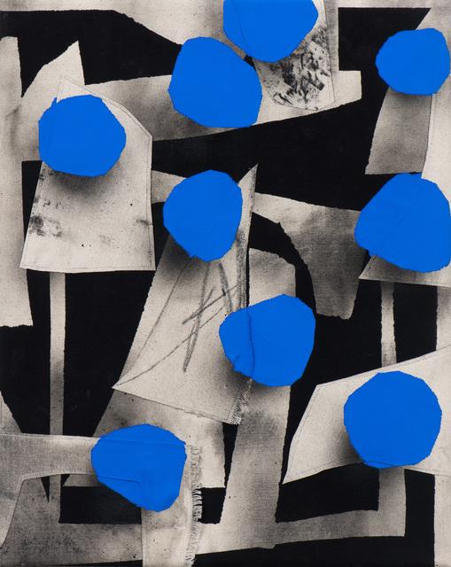 , 'Blue Dot,' 2018, Moskowitz Bayse