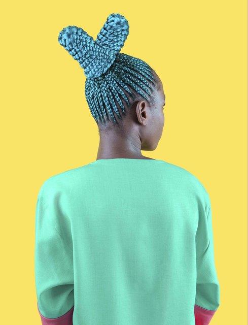 , 'Aqua Suku,' 2017, Catherine Edelman Gallery