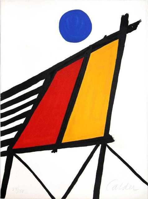 Alexander Calder, 'Blue sun', 1971, Kunzt Gallery