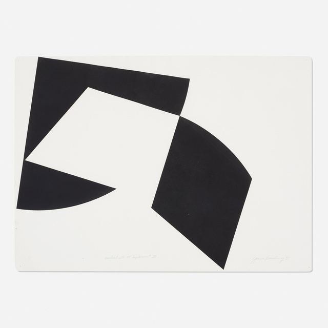 James Reineking, 'Quadrant with 90° Displacement III', 1975, Wright