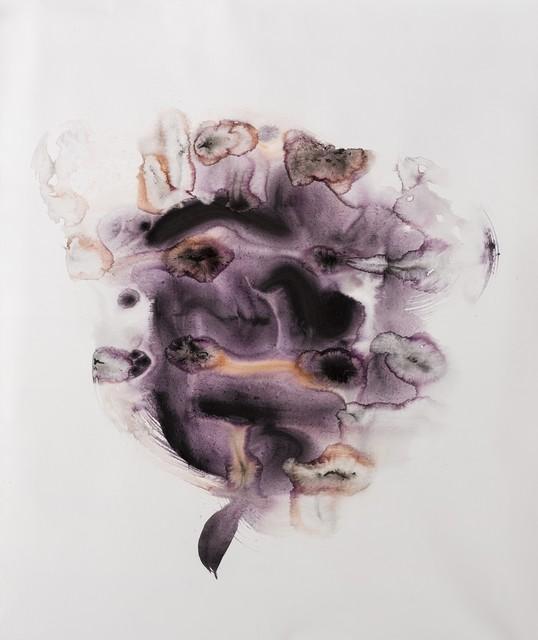 Korosh Ghazimorad, 'The Spirit of Ink', 2019, Painting, Acrylic and Ink on Canvas, Eran Gallery