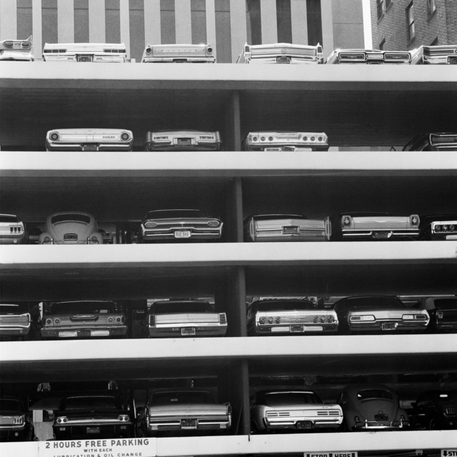 , 'Parking lot, Los Angeles,' 1967, David Hill Gallery