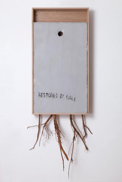 , 'Restored By Force (Yazid) Diptych pt.1,' 2017, Lazinc