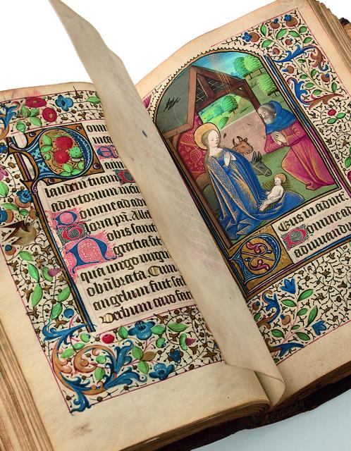 , 'Livre d'Heures à l'usage de Lisieux,' 1480-1490, Librairie Amélie Sourget