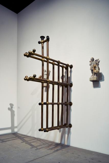 Terry Adkins, 'Solemnis (Installation view)', 2004, Installation, Brass, marble, geodes, 56th Venice Biennale