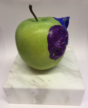 , 'Green Apple(ultramarine blue light & cobalt purple),' 2018, SNOW Contemporary