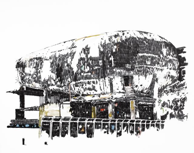 , 'Mémoire d'architecture, le songe de Beyrouth IV,' 2016, Gowen Contemporary