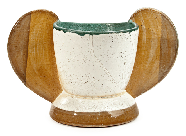 Jamie Walker, 'CUP FORM #1', 2012, Soda fired stoneware, slip and glaze, Traver Gallery