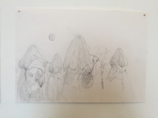 Joel Wyllie and Jerusha West, 'Collaborative Drawing 3', 2019, Arusha Gallery