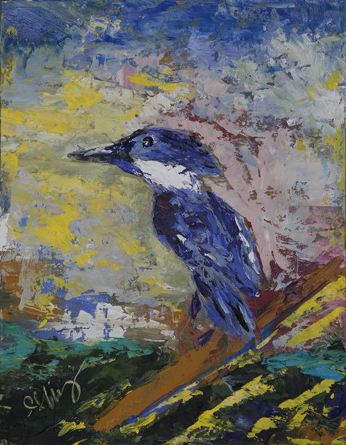 , 'Kingfisher,' 2018, Geoffrey C. Smith Galleries