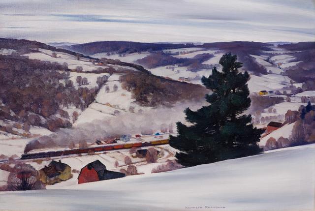 Kenneth Washburn, 'Freight Train', ca. 1944, Vose Galleries