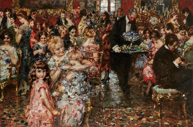 , 'The Reception,' ca. 1920, Jack Kilgore & Co.