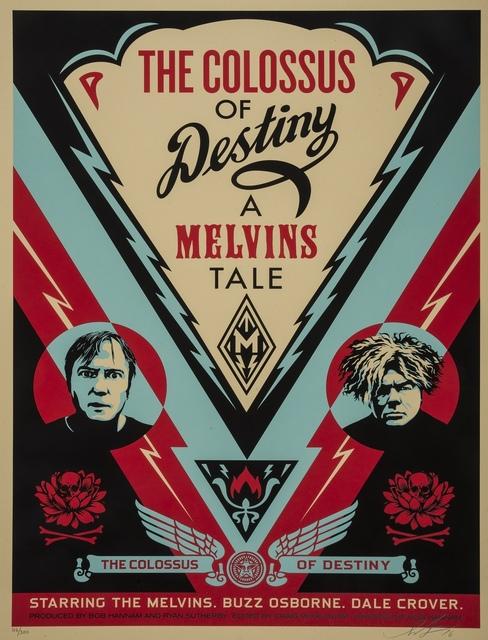 Shepard Fairey, 'Melvins Colossus', 2017, Forum Auctions