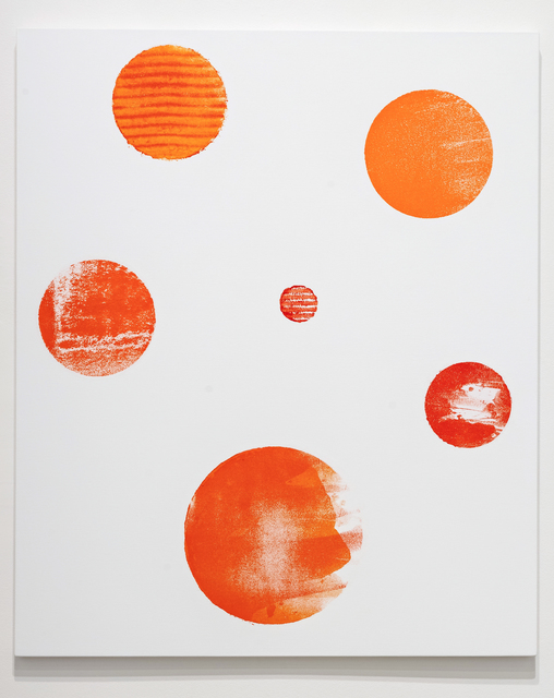 , 'Distant - Orange,' 2017, Susan Hobbs Gallery