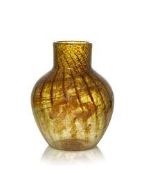 a glass vase, shape N