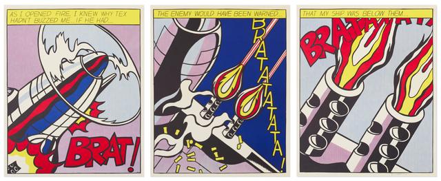 Roy Lichtenstein, 'As I opened Fire', 1966, Van der Vorst- Art