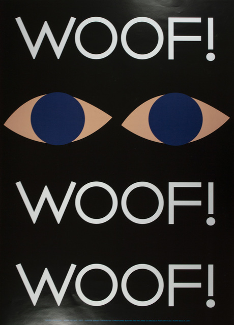 Honza Zamojski, ' Wolf Letter: Poster Series Curated by Christophe Boutin and Mélanie Scarciglia for Untitled, Miami Beach', 2017, David Barnett Gallery
