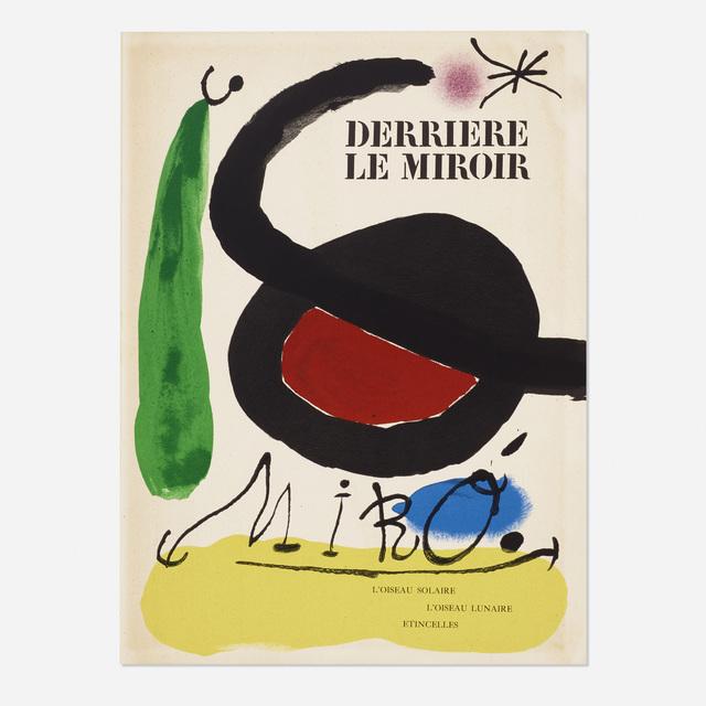 Joan Miró, 'Derriere Le Miroir: L'Oiseau Solaire, L'Oiseau Lunaire - Etincelles', 1967, Wright
