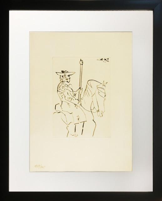 Pablo Picasso, 'Picador au Repos (Picador at Rest)', 1949, Baterbys