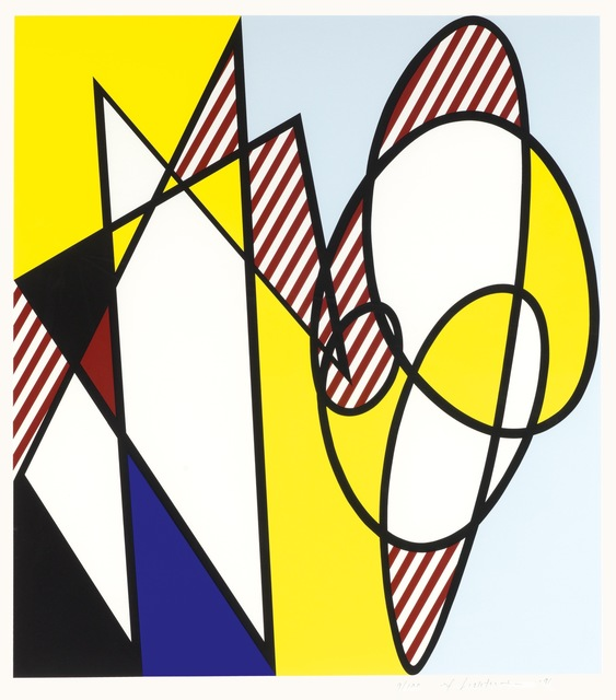 Roy Lichtenstein, 'Best Buddies', 1991, Kunzt Gallery