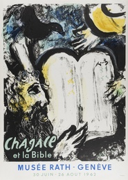 After Marc Chagall, 'Moise et Les Tables de la Loi (Mourlot 362),' 1962, Forum Auctions: Editions and Works on Paper (March 2017)