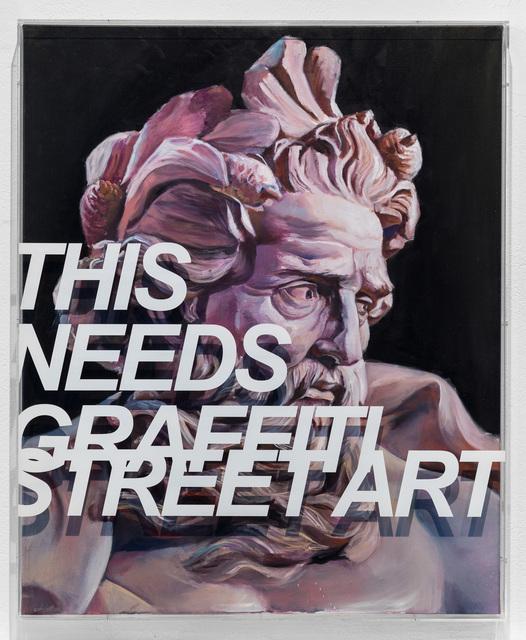 , 'This Needs Graffiti Street Art,' 2018, Underdogs Gallery