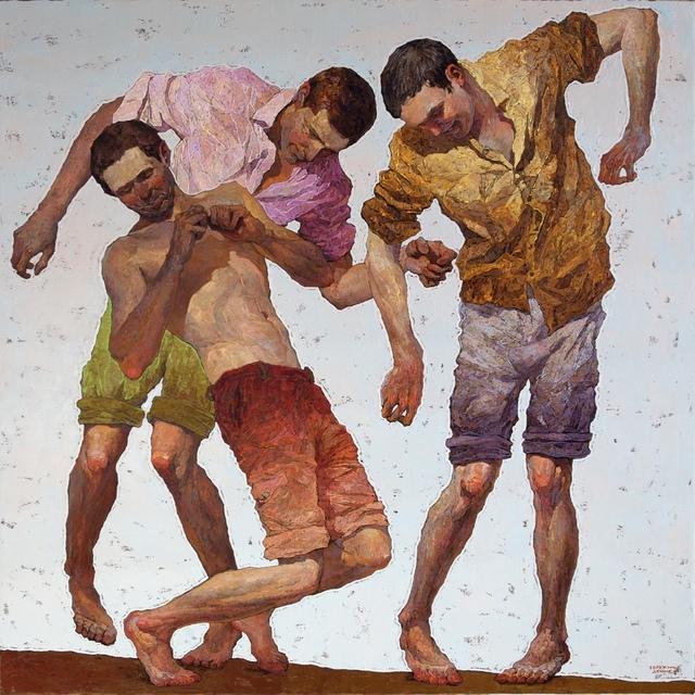 , 'Dancing Men No. 5,' 2017, ARCADIA CONTEMPORARY
