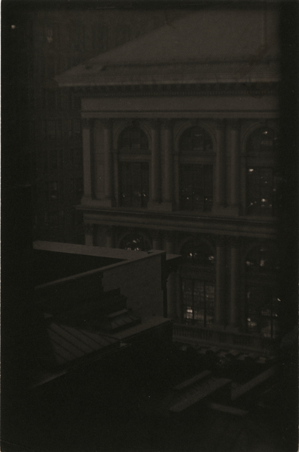 , 'Corner View of a Classical Building, New York,' ca. 1923, Rick Wester Fine Art
