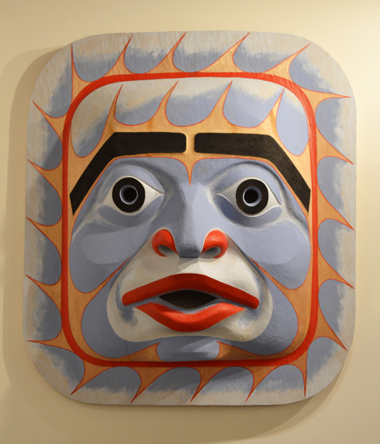 , 'Bella Coola Sky Mask,' 2014, Fazakas Gallery