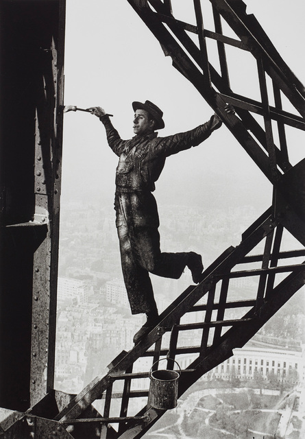 Marc Riboud, 'The Painter of the Eiffel Tower, Paris, France', 1953, Phillips