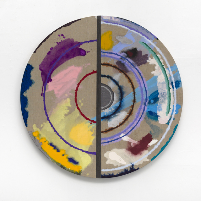 Pamela Jorden, 'Cut Target', 2016, Painting, Oil on linen, Romer Young Gallery