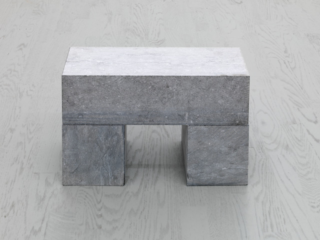 Carl Andre, '1 BLOCK ON 2 CUBES', 2001, Alfonso Artiaco