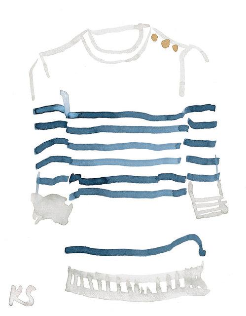 , 'Classic Style Breton Striped Shirt,' 2017, ArtStar