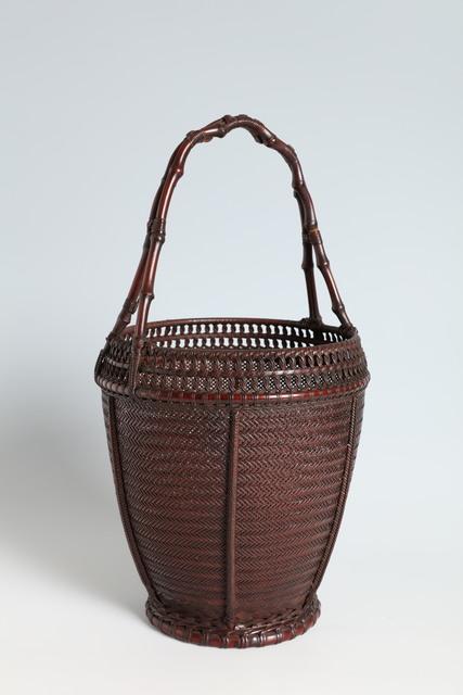 , 'Flower Basket with Bamboo Rhizome Handle (T-4190),' ca. 1930, Erik Thomsen