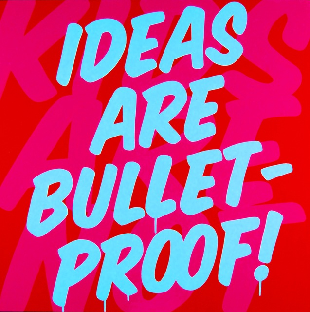 , 'Bullet Proof,' 2017, design art concepts