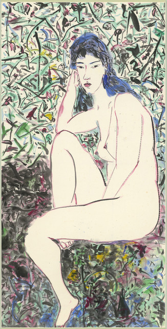 , 'Nude (Green Space),' 1990, Liang Gallery