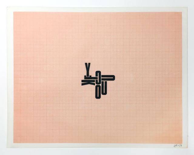 , 'FUCKYOU,' 1957, Henrique Faria Fine Art