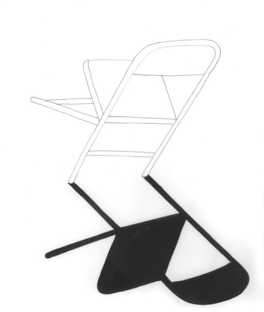 , 'untitled (Chair),' 2016, V1 Gallery