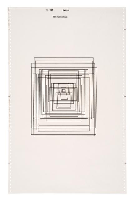 , 'Trapèzes inscrits (Series of 5),' 1974, The Mayor Gallery
